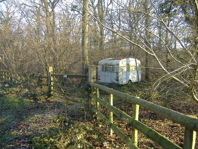 Private caravan site