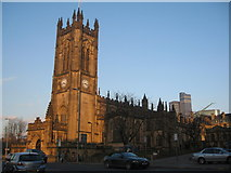 SJ8398 : Manchester Cathedral - St Mary, St Denys and St George by Sue Adair