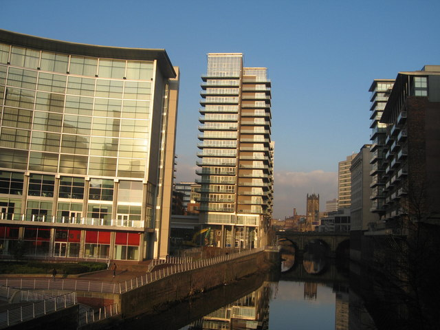 River Irwell from Trinity Bridge