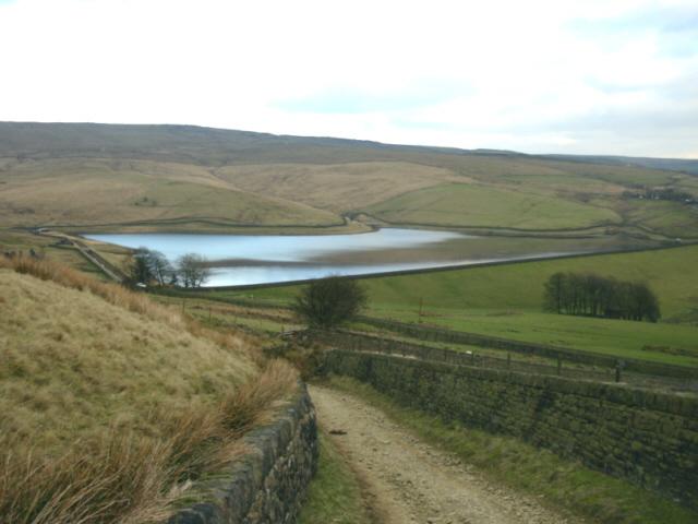 Castleshaw Top Reservoir