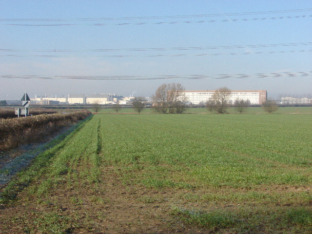 Field with Cowley motor works beyond