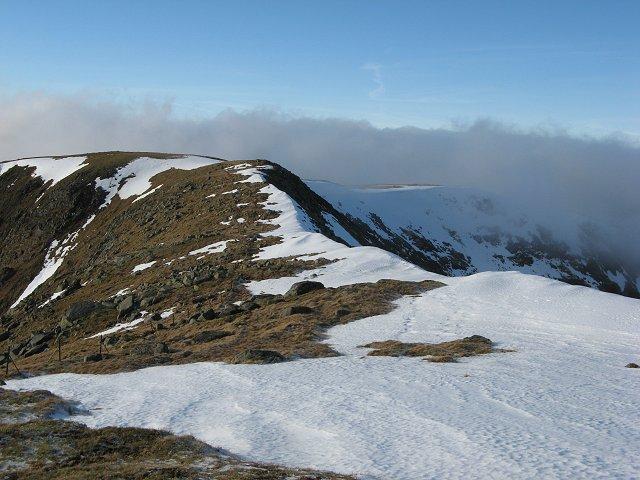 West ridge, Stob Ghabhar