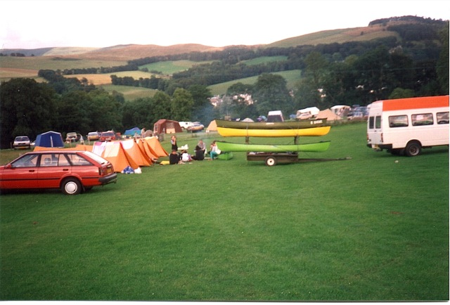 Camping in the hills 93 style