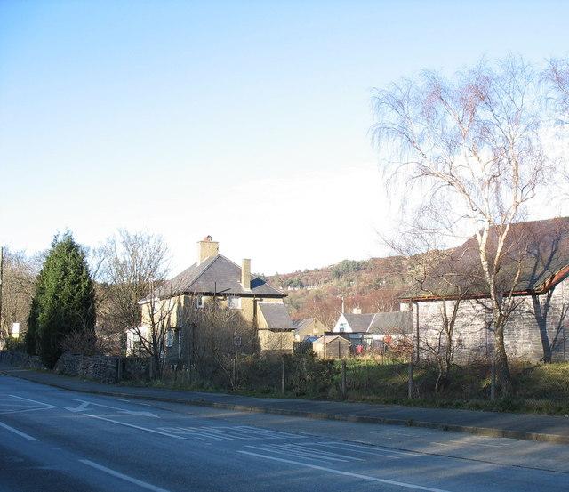 The former married quarters of RAF Llanberis