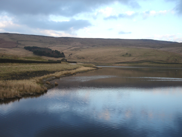 Castleshaw Top Reservoir and Standedge