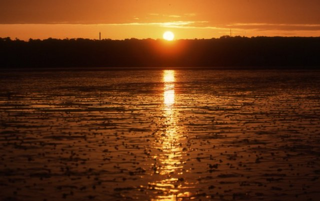 Sunrise over West Kirby