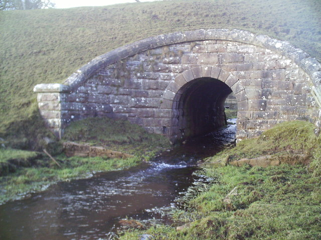The Dunsyre Burn runs under a disused railway .