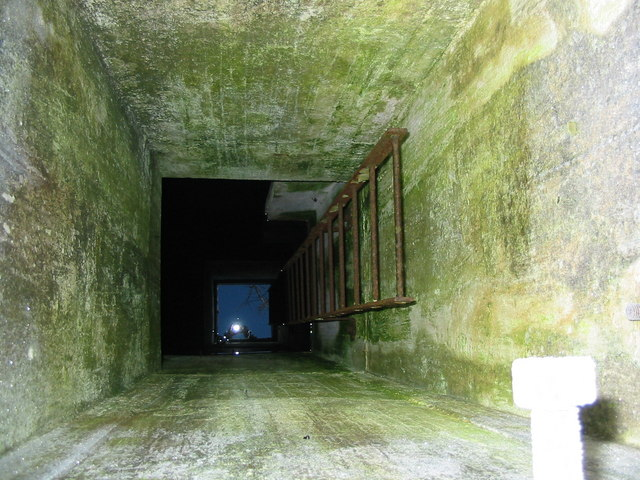 View inside old ROC Bunker