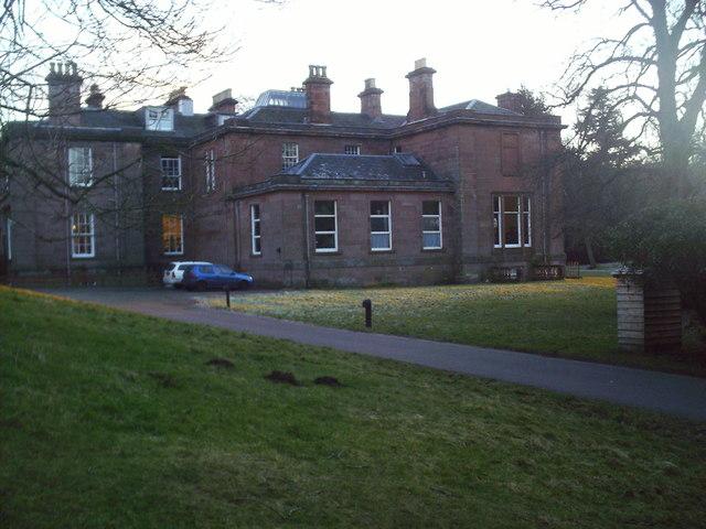 Garvald House near West Linton