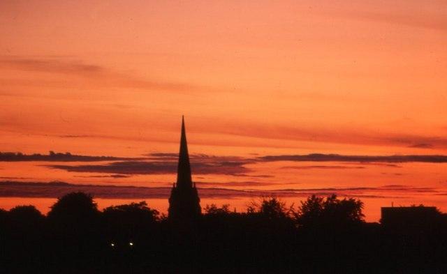 Sefton at sunset