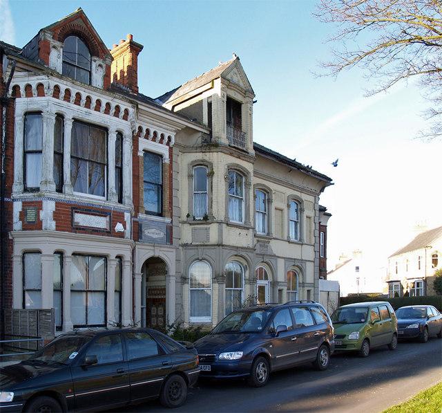 Victorian Houses on Wilton Road, Hornsea