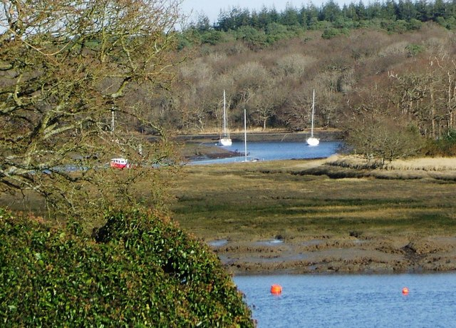 River Beaulieu from Bucklers Hard