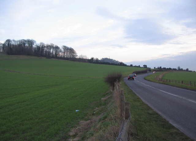 Approaching Warminster