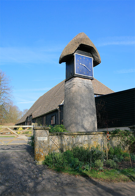 Clock Barn at Tufton Warren Farm