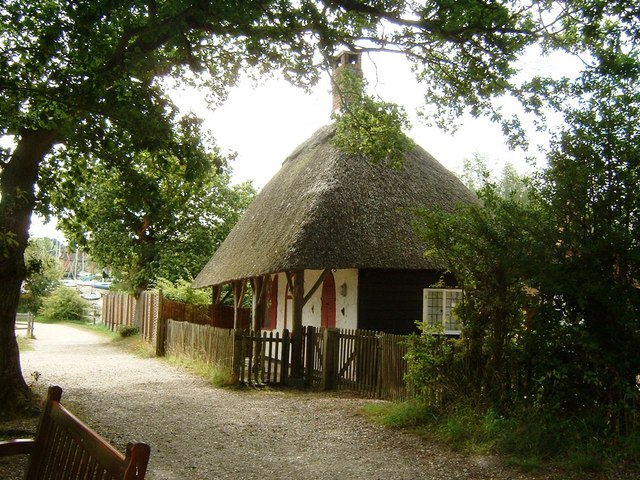 Thatched Cottage at Bucklers Hard