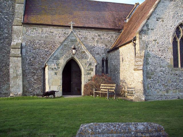 Porch, All Saints Church
