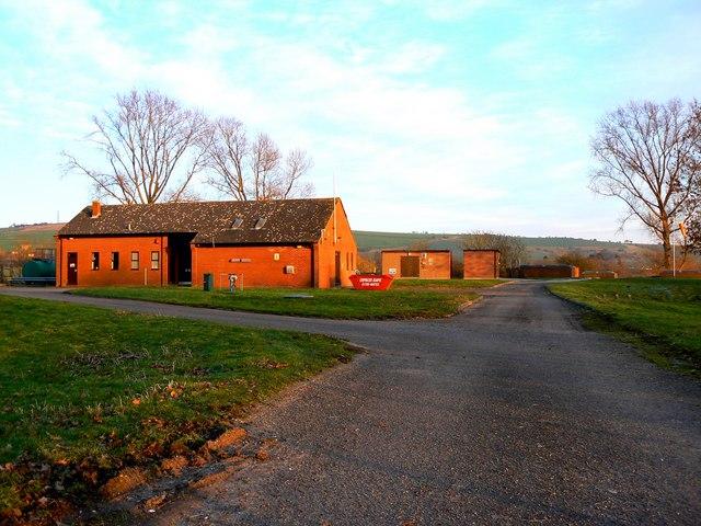 Ogbourne Water Treatment Works, near Ogbourne St George, Marlborough
