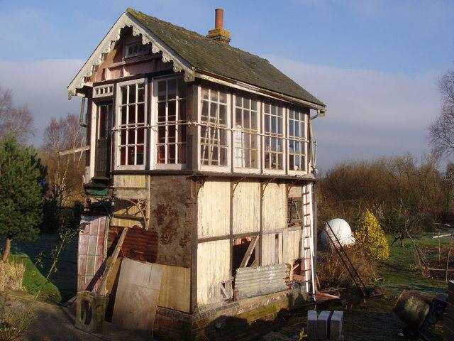Derelict signal box