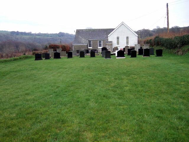 Glandwr Chapel Llanychaer
