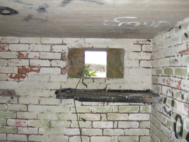 Pillbox interior
