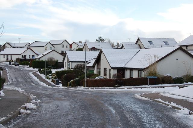 Housing development at Ellon