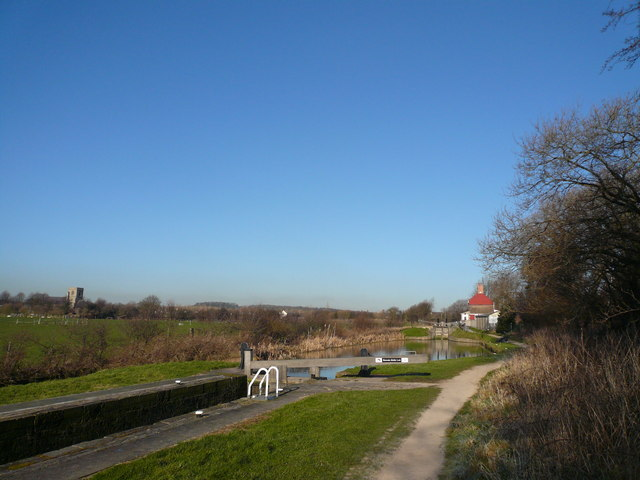 Chesterfield Canal - Middle Lock No 43
