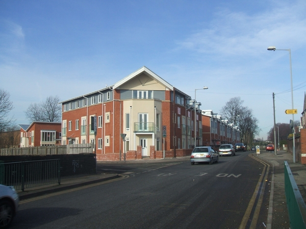 Apartments and starter homes in Heath Town