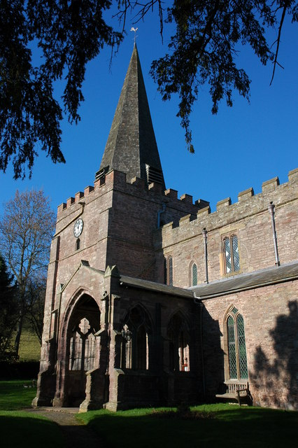 Dilwyn church