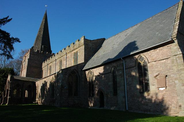 St Mary's church, Dilwyn