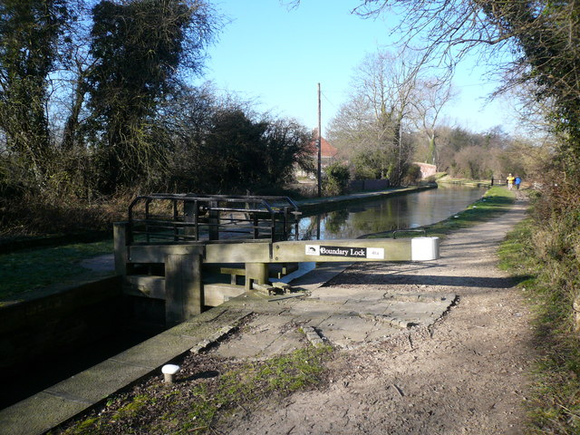 Chesterfield Canal - Boundary Lock No 41a