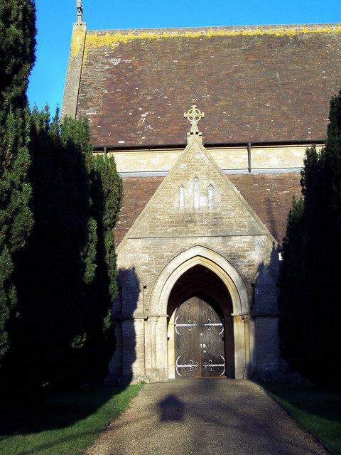 Porch to St John the Evangelist Church