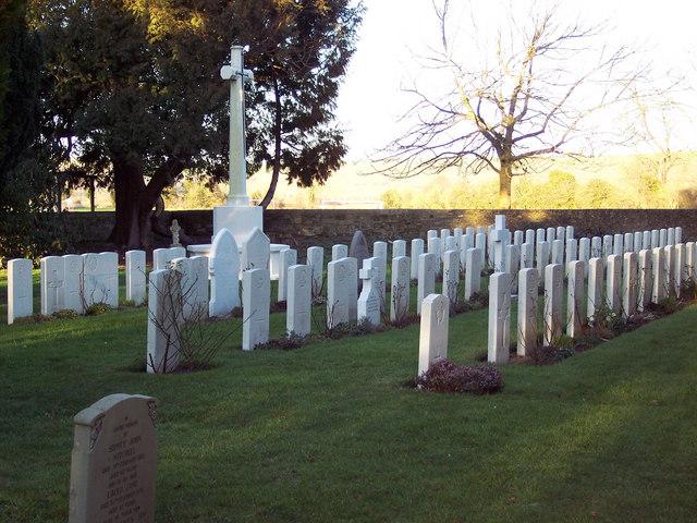 Commonwealth War Graves in St John the Evengelist Churchyard