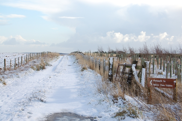 Footpath to Hillies View