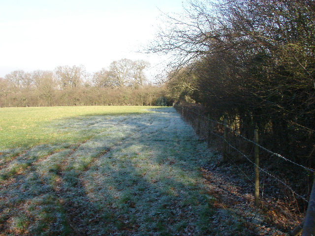 Frosted field on Hinksey Hill