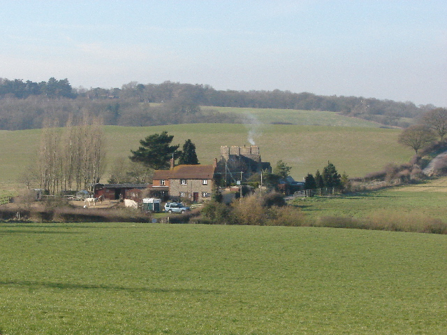 Chilswell Farm from Hinksey Hill