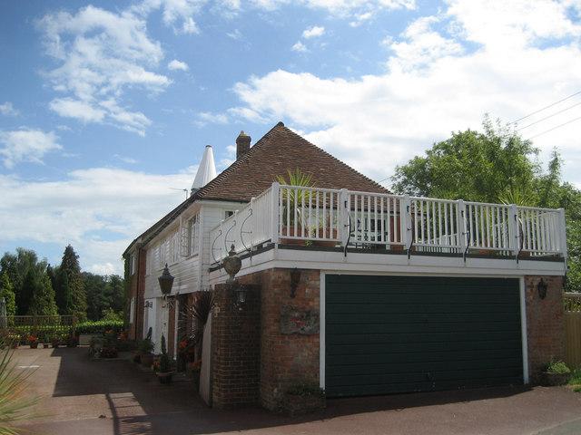 Oast House at Running Waters, Lower Hazelhurst, Burnt Lodge Lane, Ticehurst, East Sussex