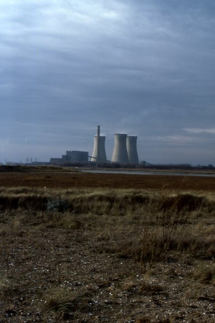 View of Richborough Power Station