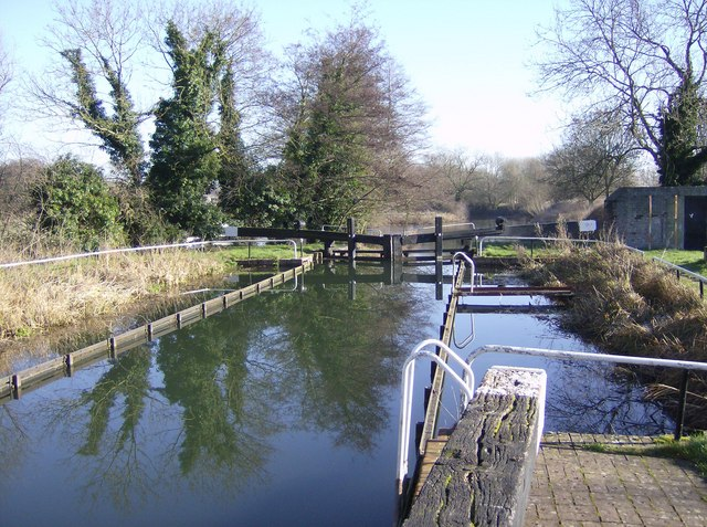 Garston Lock, Kennet and Avon Canal