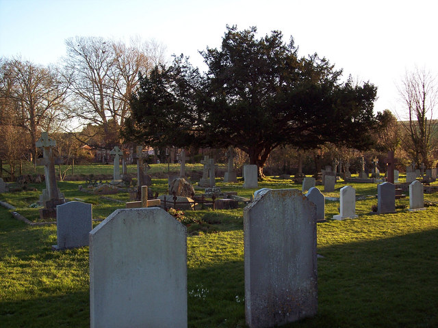 Gravestone at St John the Evangelist Church