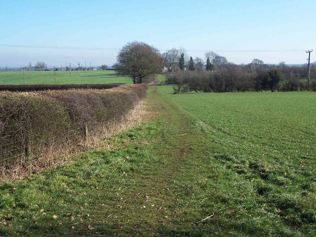 Footpath from Bardey Lane