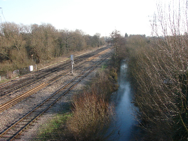 Hinksey Stream and Railway