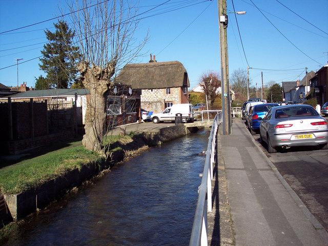 Stream in Shrewton