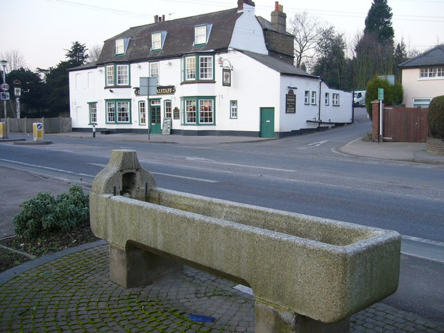 Higham horse trough