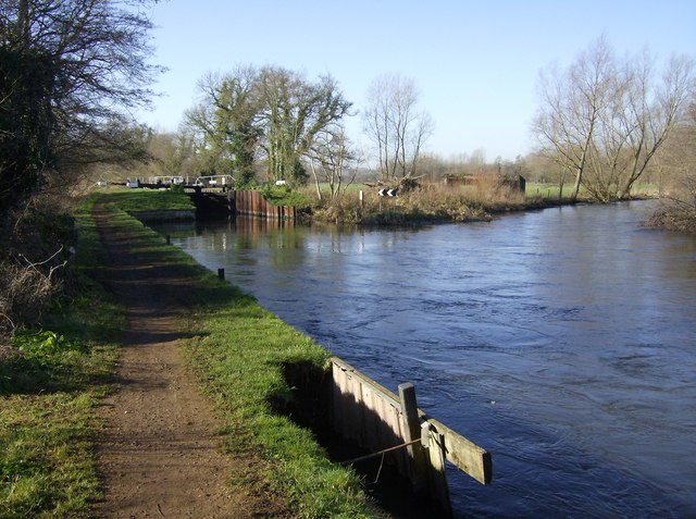 Sulhamstead Lock, Kennet and Avon Canal