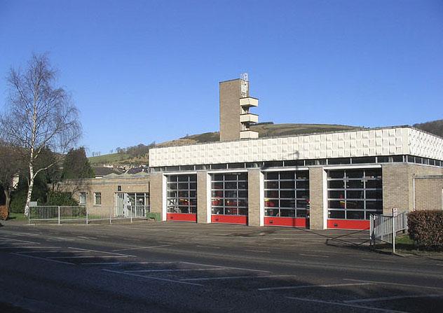 Galashiels Fire Station