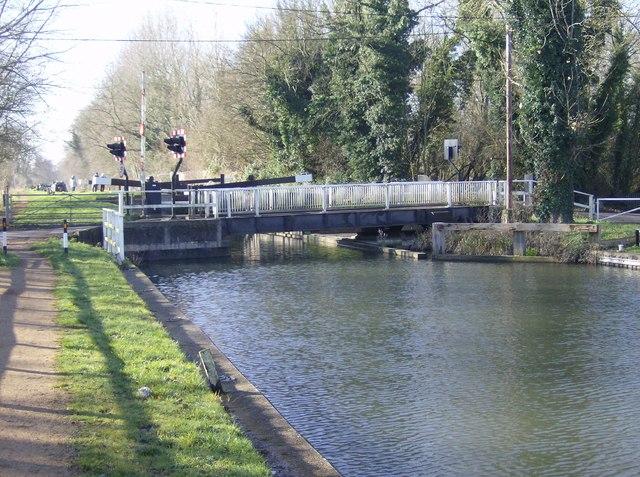 Tyle Mill Swing Bridge