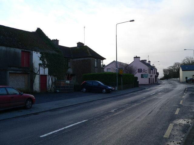 Ballinderreen Village.