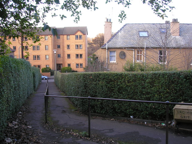 Footpath from Craighouse Avenue