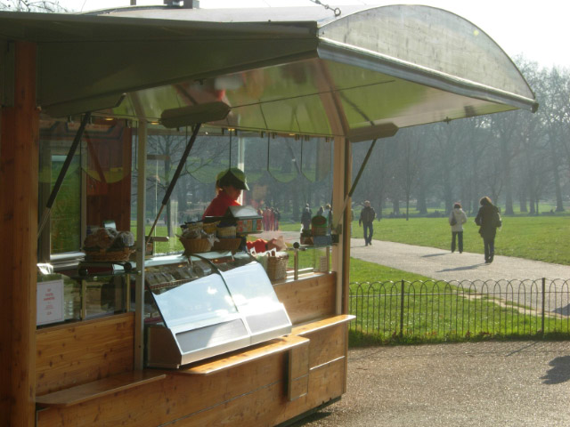 Refreshment Kiosk, Green Park