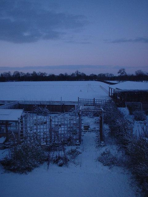 Winter from my bedroom